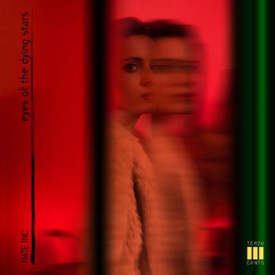 La copertina del nuovo singolo degli Hate Inc. Eyes of the dying Stars